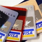Different Visa credit cards